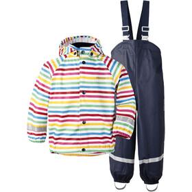 DIDRIKSONS Slaskeman Printed Zestaw Dzieci, rainbow simple stripe